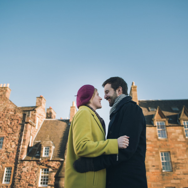 Edinburgh Castle Engagement session